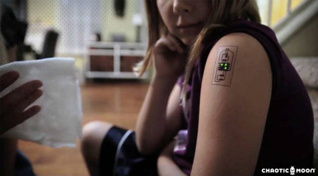 Tech tats can monitor you health (1)