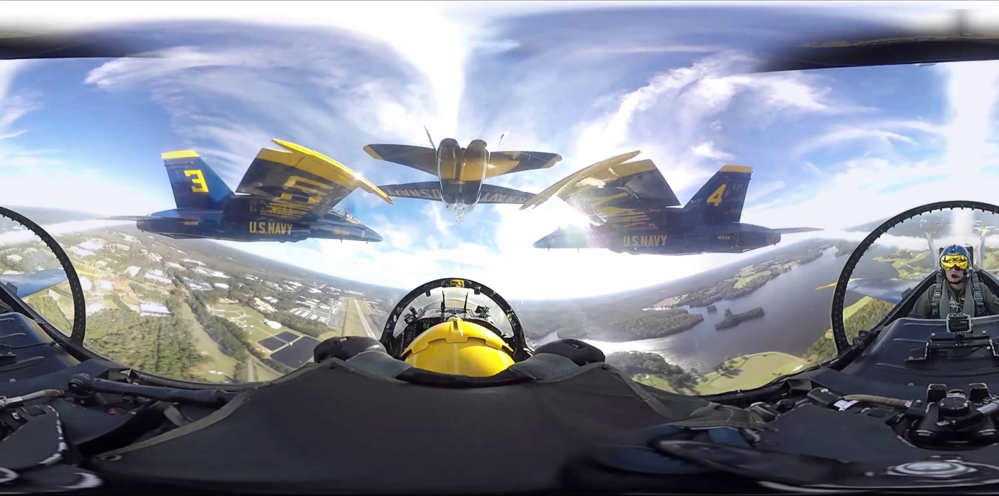 The Blue Angels in 360-degree video 2