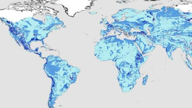 The quantities of Global Groundwater