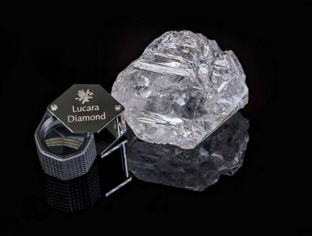 This is the Largest Diamond to be found in 100 years