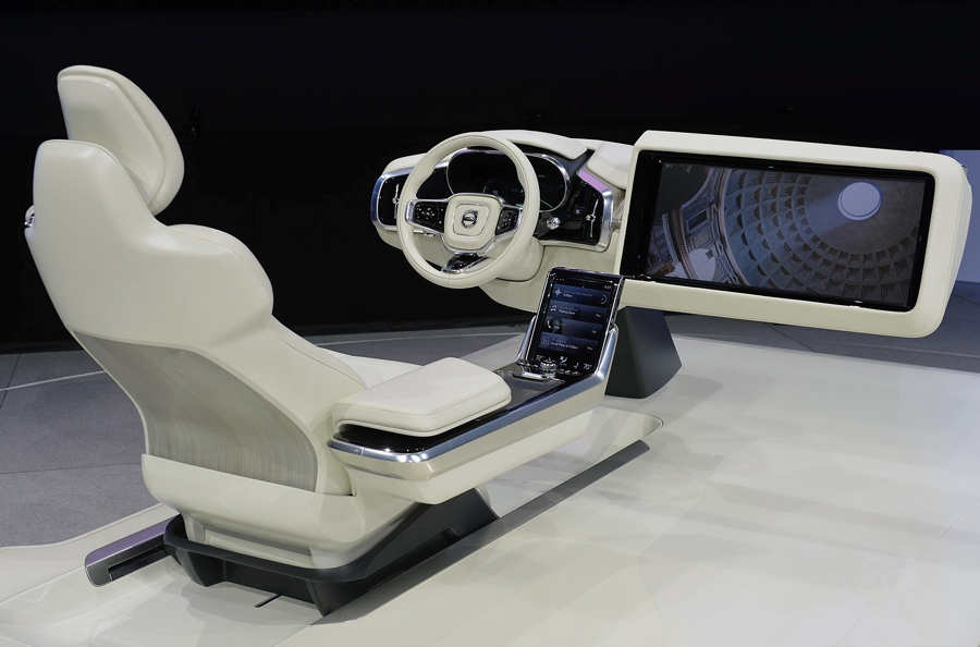 wordlesstech volvo is designing the autonomous car. Black Bedroom Furniture Sets. Home Design Ideas