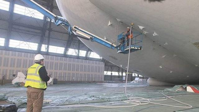 World's biggest aircraft 'takes off' (1)