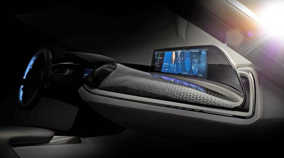 BMW AirTouch Contactless Touchscreen