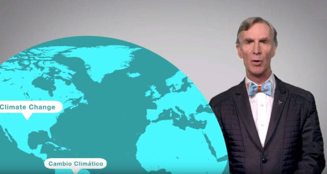 Bill Nye explains everything about Climate Change