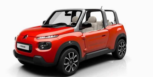 Citroen's all-electric e-Mehari