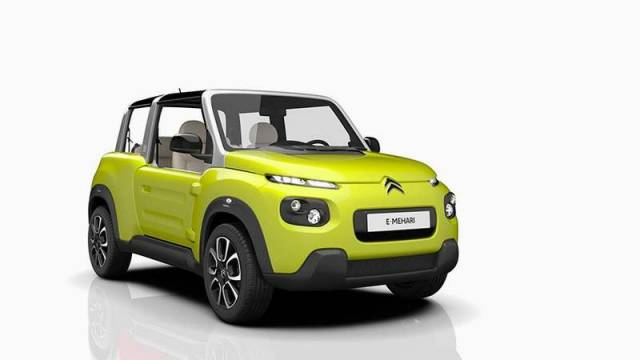Citroen's all-electric e-Mehari (4)
