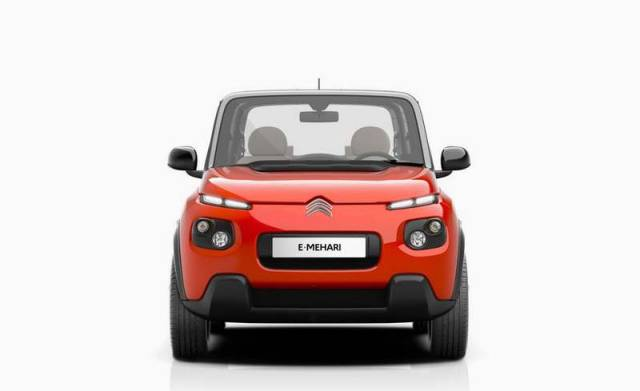 Citroen's all-electric e-Mehari (2)