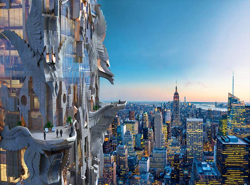 Futuristic Sculptural Skyscraper by Mark Foster Gage Architects (5)