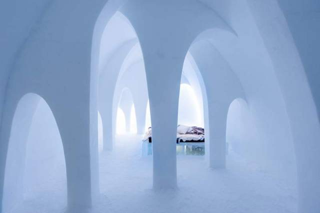 Icehotel 2016 in Sweden