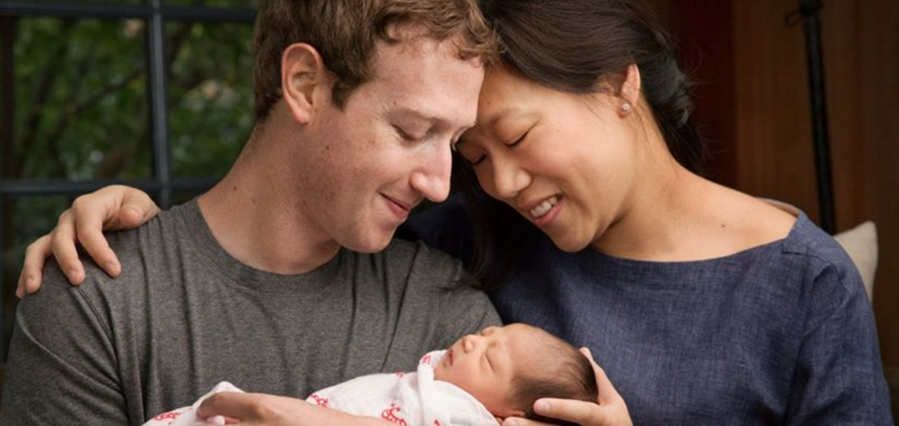 Mark Zuckerberg and Priscilla Chan's new daughter MAX