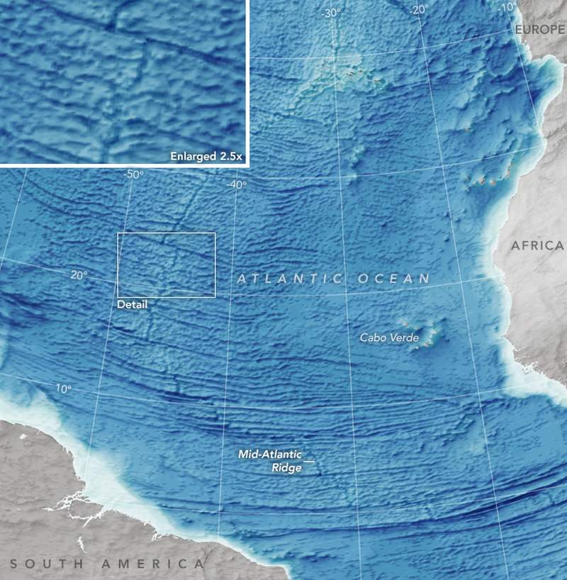 Most Detailed Seafloor Map