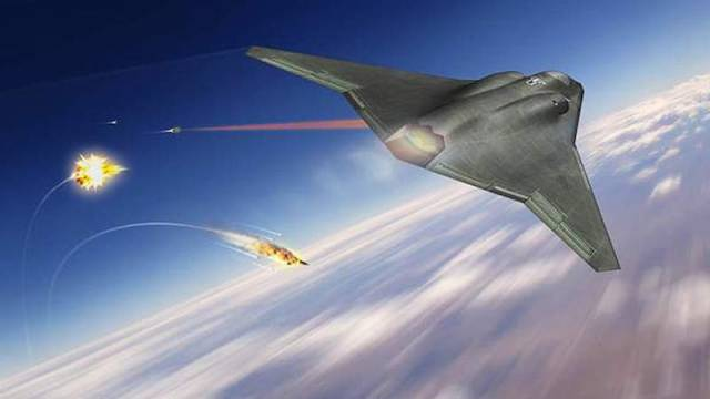 Northrop Grumman's concept of the sixth-generation fighter jet