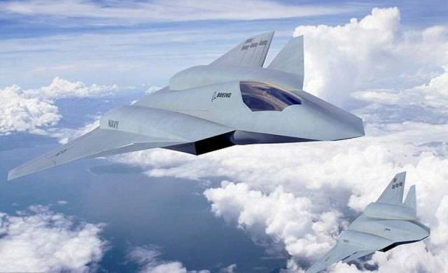 Boeing concept of the sixth-generation fighter jet