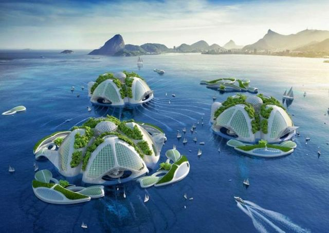 Oceanscapers- futuristic 3D-printed floating villages (2)