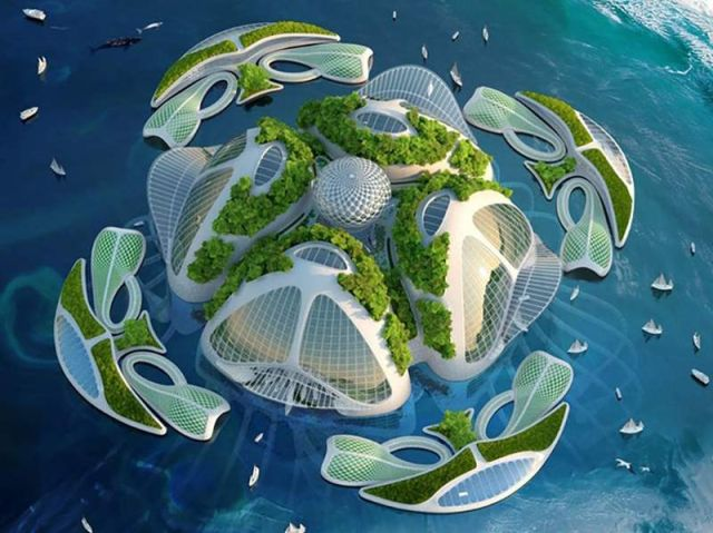 Oceanscapers- futuristic 3D-printed floating villages (10)