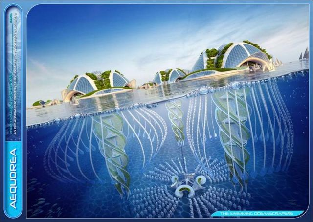 Oceanscapers- futuristic 3D-printed floating villages (7)