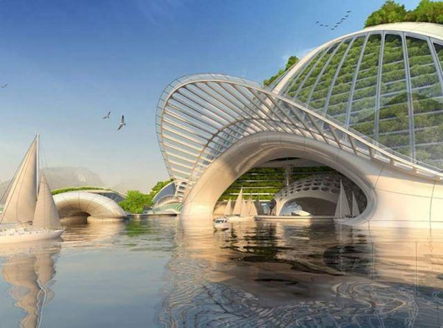 Oceanscapers- futuristic 3D-printed floating villages (5)