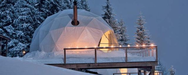 Whitepod Hotel in the Swiss Alps (5)