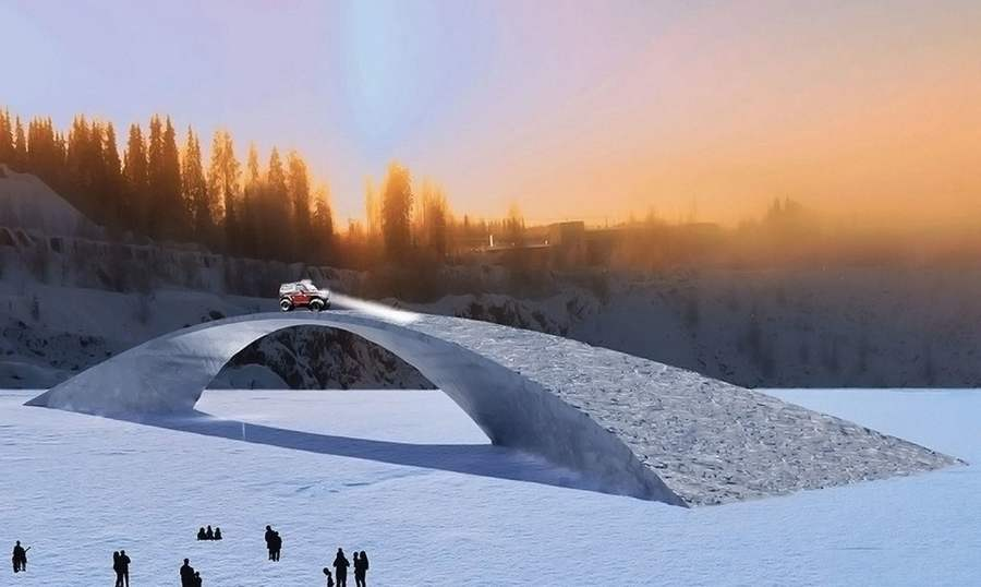 World's longest ice bridge in Finland (4)
