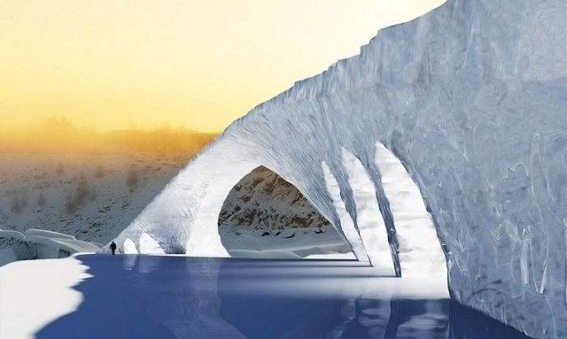 World's longest ice bridge in Finland (3)