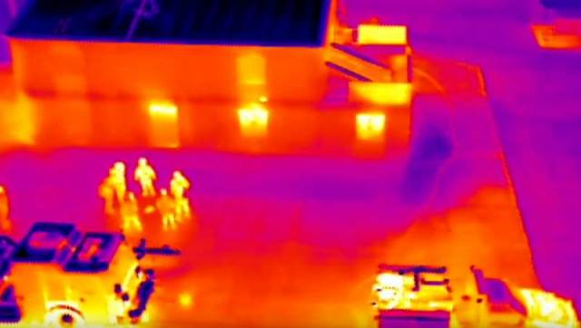 Zenmuse XT Thermal-Imaging Drone