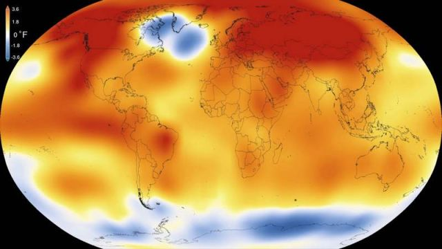 2015- the Hottest Year on Record