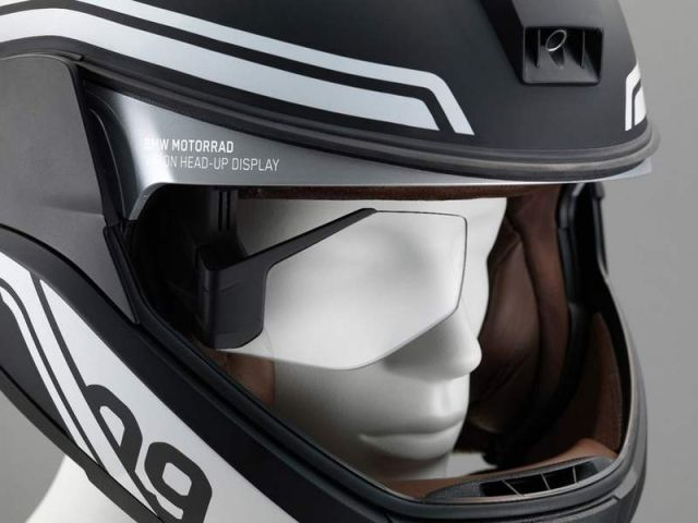 BMW motorcycle Laser light and Helmet Head-Up Display (5)