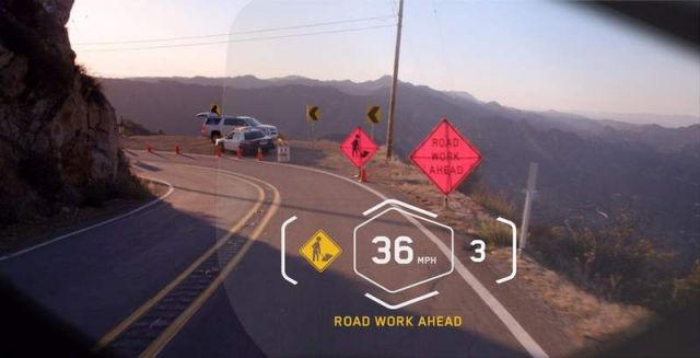 BMW motorcycle Laser light and Helmet Head-Up Display (2)