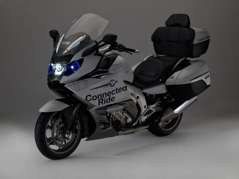 Bmw Shows Motorcycle Laser Light And Helmet Head Up