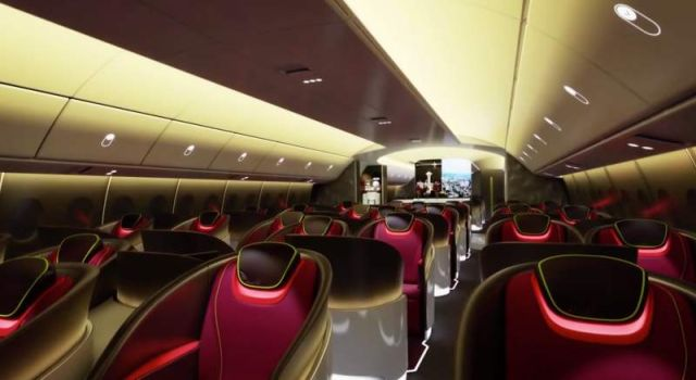 Airplane Cabin of the future by Boeing (7)