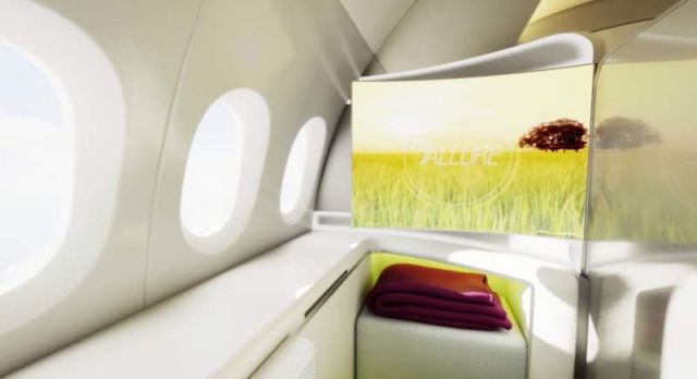 Airplane Cabin of the future by Boeing (6)