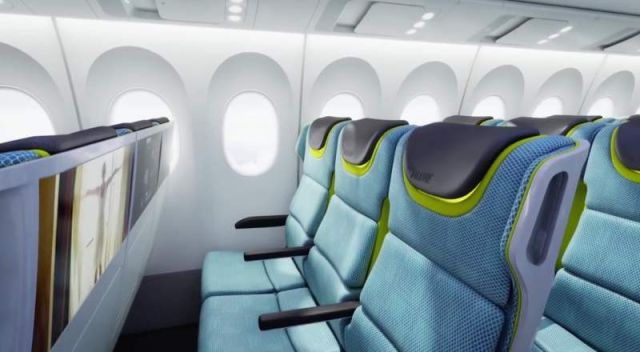 Airplane Cabin of the future by Boeing (2)
