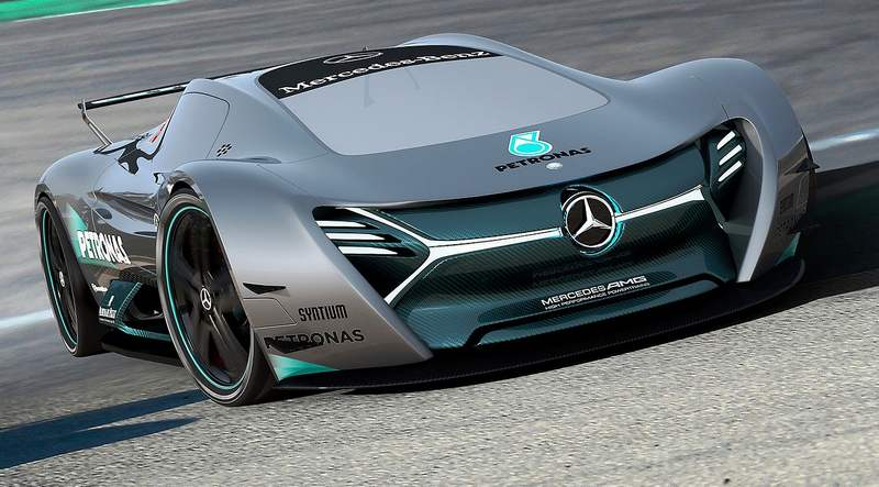 wordlesstech elk mercedes electric concept car
