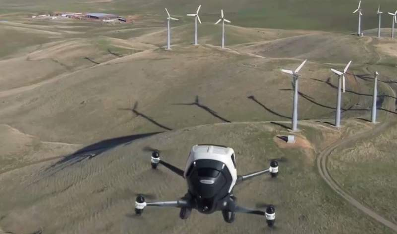 EHang shows footage of its passenger drone in flight
