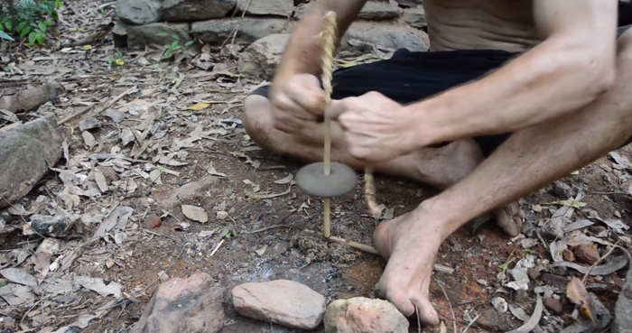 How to start a Fire, the very old way