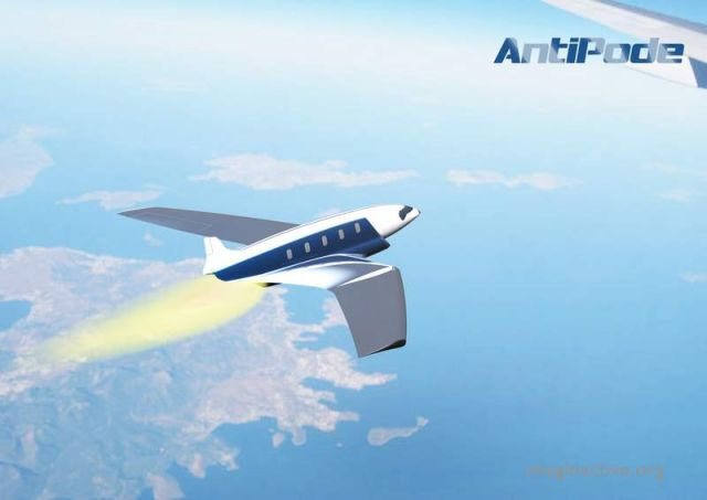 Antipode Hypersonic Jet concept (5)
