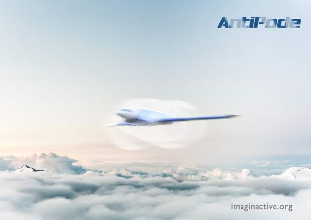 Antipode Hypersonic Jet concept (3)