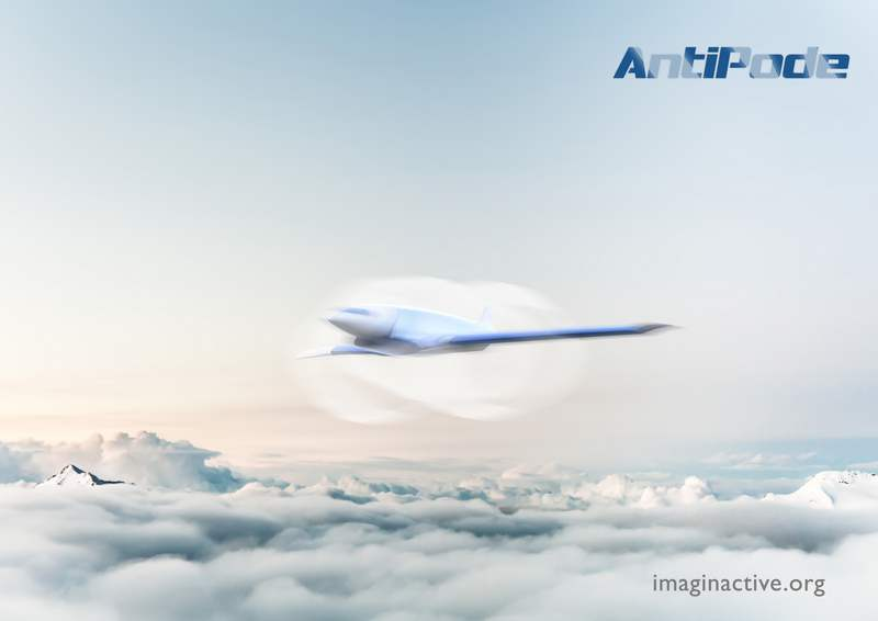 WordlessTech  Hypersonic Jet Concept Will Fly From New York To London In 11