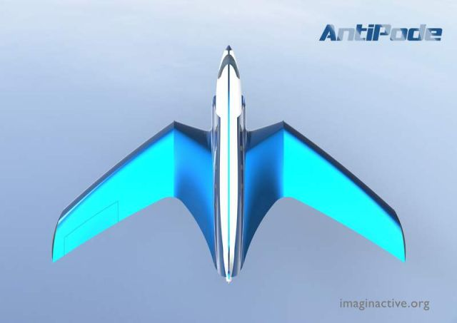 Antipode Hypersonic Jet concept (2)