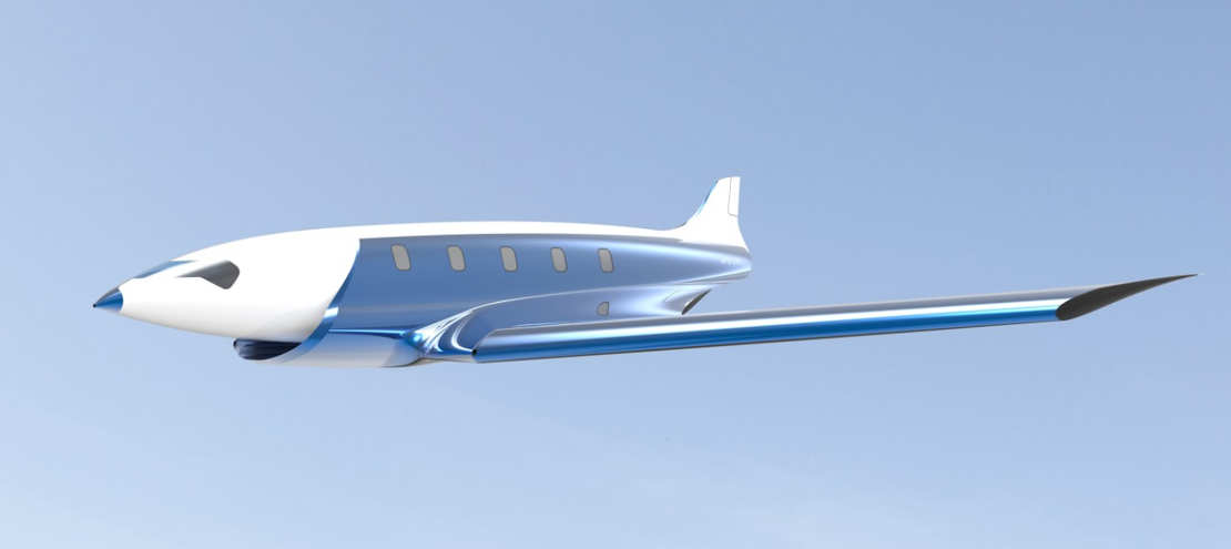 Antipode Hypersonic Jet concept (1)