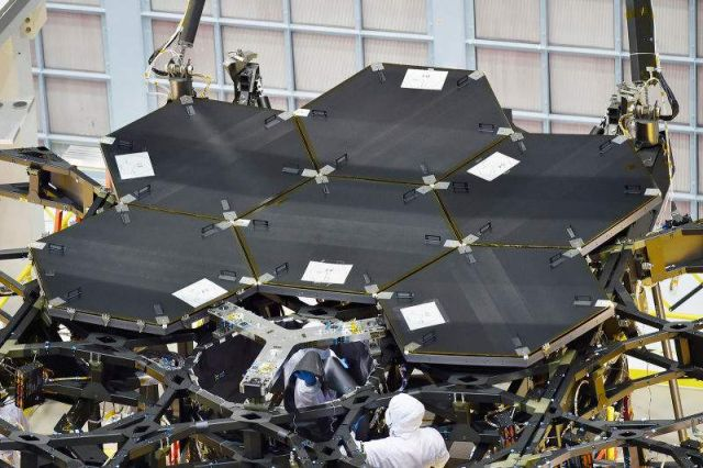 James Webb Space Telescope with six Mirrors