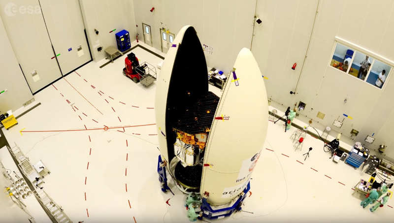 LISA Pathfinder prepares for liftoff