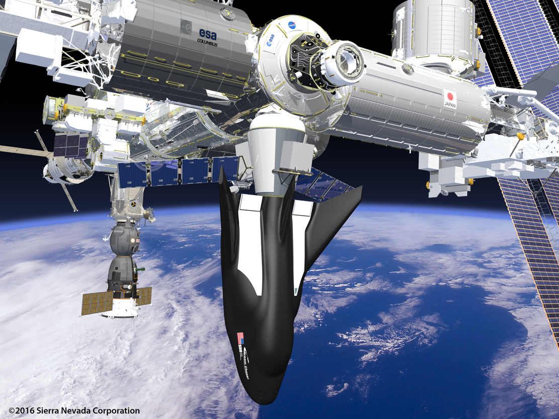 Dream Chaser and ISS