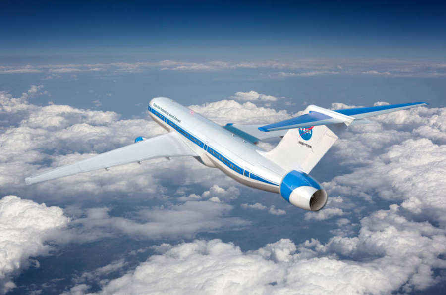 NASA's Hybrid Electric Aircraft concept