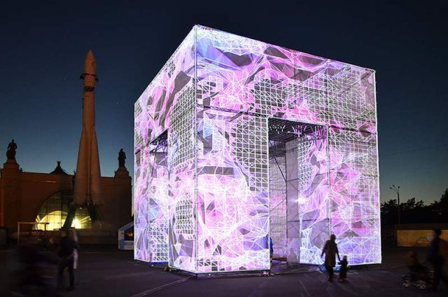 P-cube in Moscow's VDNKh Park (3)