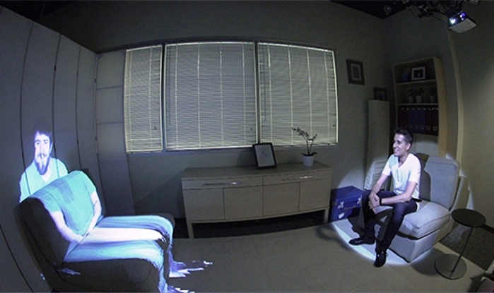 Room2Room augmented-reality telepresence project