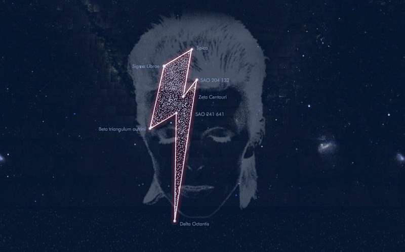 Seven Stars named after David Bowie