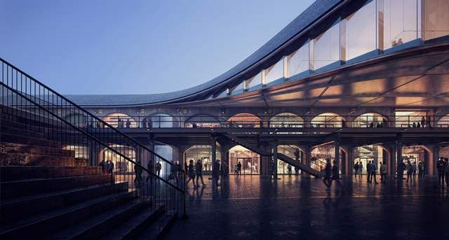 Shopping Center in London's King's Cross by Heatherwick (1)