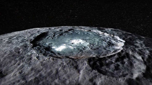 mysterious planet Ceres