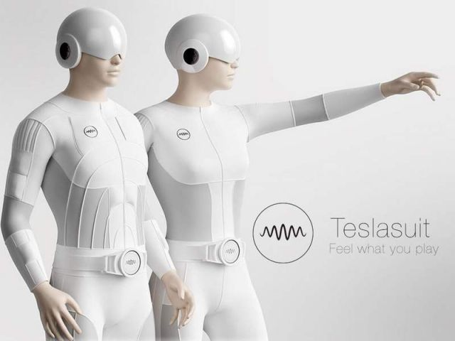Teslasuit for Virtual reality (3)